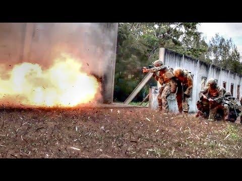 EXPLOSIVE Door Breaching Techniques – Doors Are No Match For Determined Combat Engineers & Marines