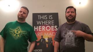 Ep. 20: We Got To Be Heroes, For About 30 Minutes..