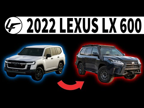 LEAKED - The Land Cruiser GR-S is coming to AMERICA as the 2022 Lexus LX 600 F-Sport ???