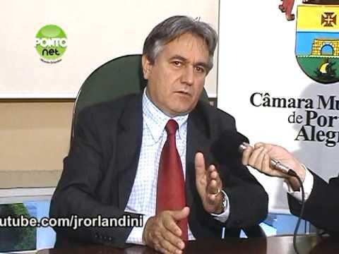 Entrevista com o presidente da Câmara Municipal de Porto Alegre, vereador Nelcir Tessaro (PTB) - Bloco 2