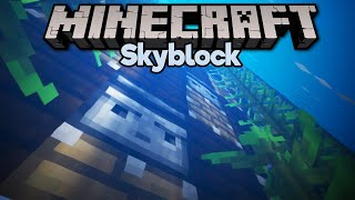 A Sky-High Kelp Farm Experiment! • Minecraft 1.15 Skyblock (Tutorial Let's Play) [Part 27]