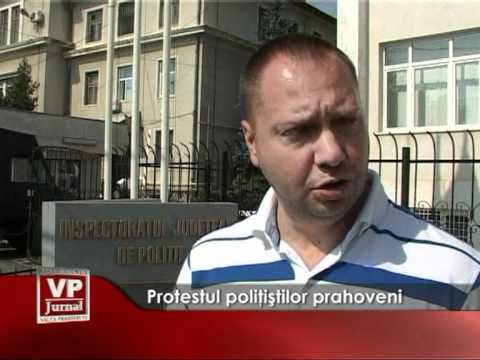 Protestul politistilor prahoveni