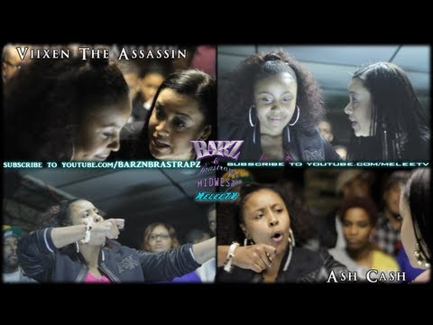 BARZ N BRASTRAPZ MW | VIIXEN THE ASSASSIN VS ASH CASH | BAR EXAM 1.20.13