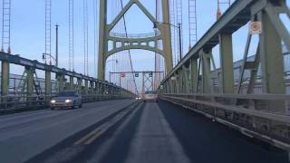 Dartmouth (NS) Canada  City pictures : Driving Downtown Halifax and Dartmouth, Nova Scotia [WINTER]