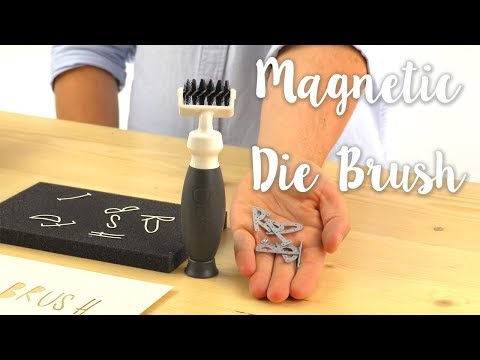 How to Use the Magnetic Die Brush