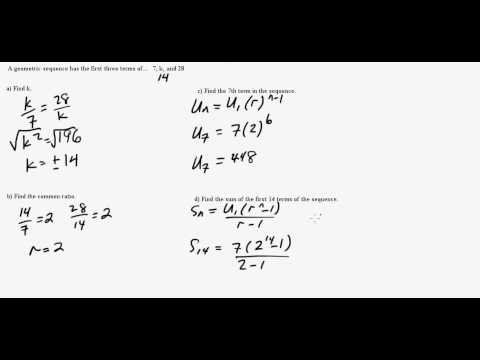 IB Math Studies: Geometric Sequences Part II