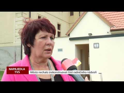 TVS: Napajedla - Rekonstrukce části radničního nádvoří