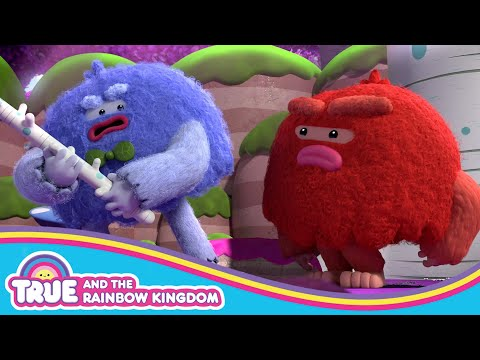 Yetis Fight Over the Scratching Stick  | Wild Wild Yetis | True and the Rainbow Kingdom