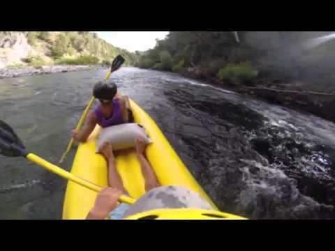 Remando en el Rio Manso, Bariloche