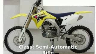 1. 2011 Suzuki RM-Z 450  Specification Specs [Motorcycle Specs]