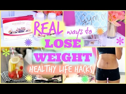 REAL ways to LOSE WEIGHT | Healthy Life Hacks