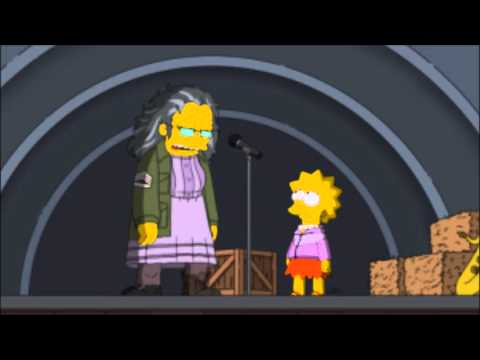 Hettie Mae Boggs - Down To The River To Pray (song3) | THE SIMPSONS |