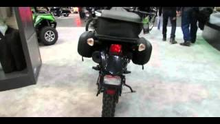 3. 2014 Kawasaki KLR650 Accessorized Walkaround