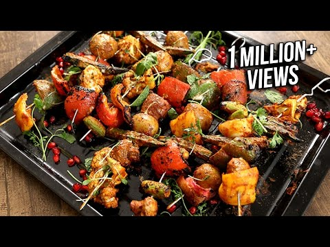 Tandoori Vegetables – Indian Starter Recipe – The Bombay Chef – Varun Inamdar