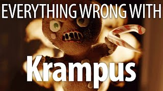 Video Everything Wrong With Krampus In 15 Minutes Or Less MP3, 3GP, MP4, WEBM, AVI, FLV Agustus 2018