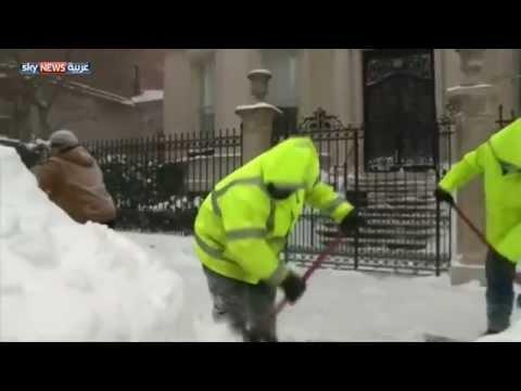 البرد يقتل عشرات الأميركيين خلال شهر - فيديو