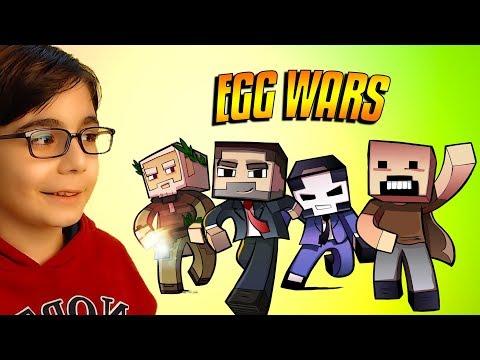 MINECRAFT'TA İNANILMAZ CHALLENGE !!! | Minecraft: Egg WarsTürkçe Modu