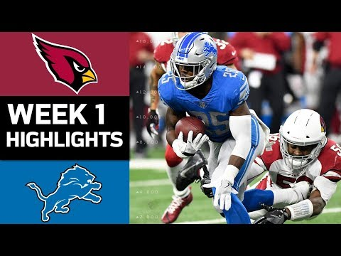 Cardinals vs. Lions | NFL Week 1 Game Highlights - Thời lượng: 7:43.
