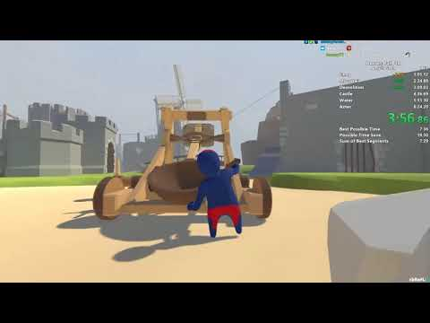 Human: Fall Flat Speedrun In 7:48 (wr)