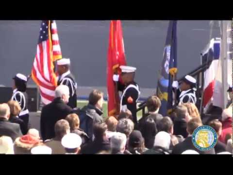 USS Somerset LPD 25 Commissioning Ceremony