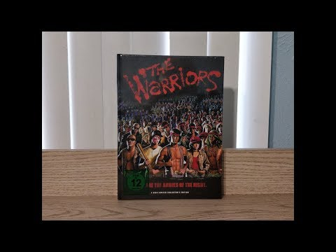 The Warriors Mediabook (Theatrical Cut) Blu-Ray Unboxing - German Import