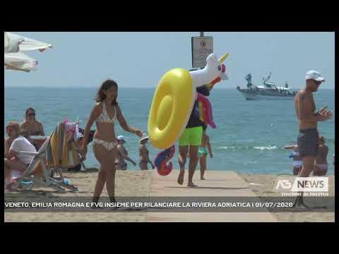 VENETO, EMILIA ROMAGNA E FVG INSIEME PER RILANCIARE LA RIVIERA ADRIATICA | 01/07/2020