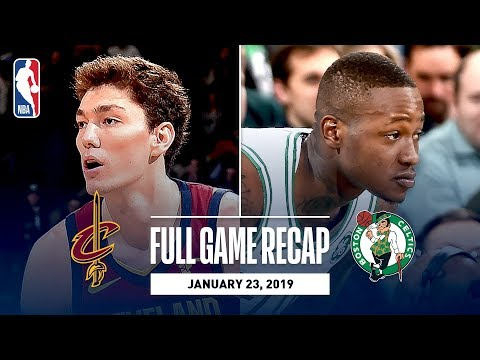 Video: Full Game Recap: Cavaliers vs Celtics | Rozier Drops 26 In Boston