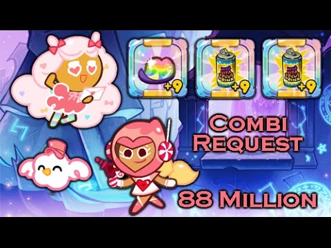 LINE Cookie Run [Request] - Cotton Candy and Pink Choco (Episode 4)