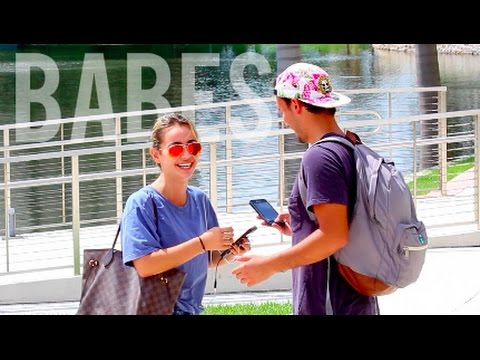 Hitting On College Babes!! (Miami)