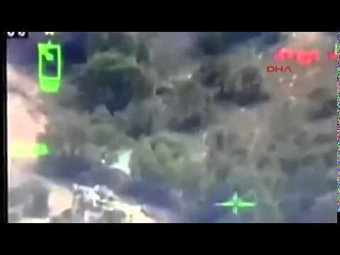 Çukurca yolunda PKK'lı teröristler böyle kıstırıldı Video
