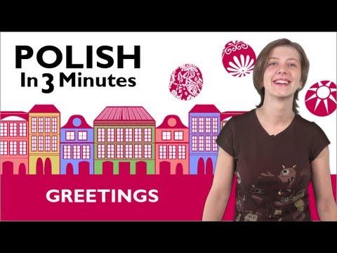 Begrüßung auf Polnisch