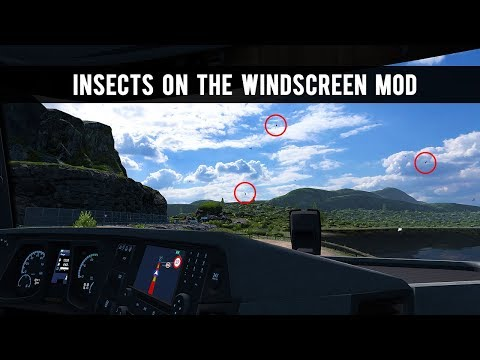 Insects on windshield for all Trucks v1.0