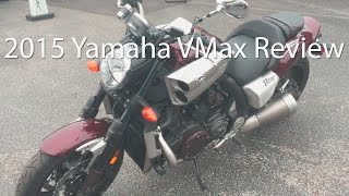 7. 2015 Yamaha VMax Motorcycle Review Ride