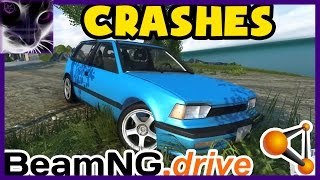 BeamNG Drive - Ibishu Covet Crashes&Accidents (NEW 2015)