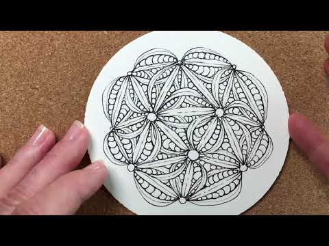 Zentangle® Project Pack #02 - Day Three