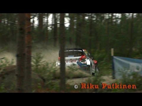 Vídeo: impresionante librada de Kubica en el WRC Rallye de Finlandia 2014 Power Stage