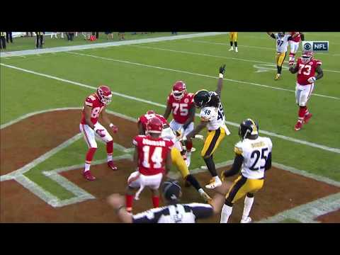 Video: Pittsburgh's Clutch Red Zone Stop w/ Wild 4th Down Play! | Steelers vs. Chiefs | NFL Wk 6 Highlights