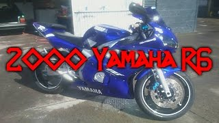 6. Yamaha R6 (2000) - First Ride