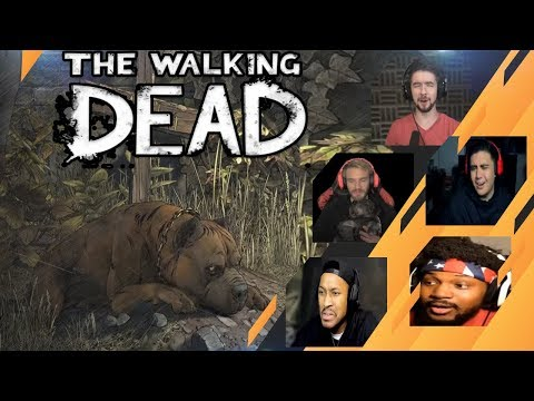 Gamers Reactions to Rosie Missing Marlon | The Walking Dead: The Final Season