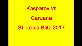 Garry Kasparov vs Fabiano Caruana St.Louis Blitz 2017 Play like Tal, Killer Endgames, Killer d4 and much, much more ...