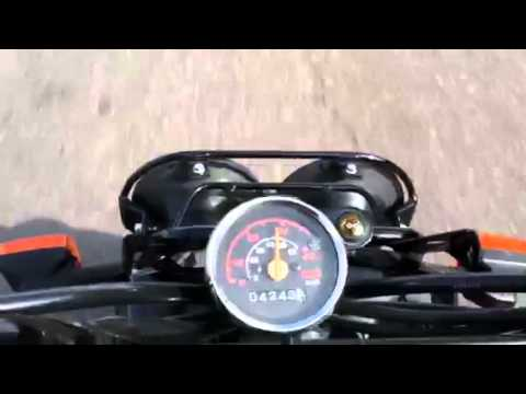 Honda Ruckus running and driving