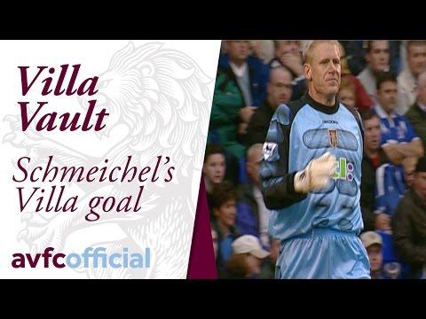 Peter Schmeichel's goal for Villa (видео)