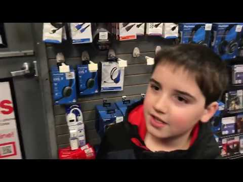 KID Temper Tantrum Goes To Gamestop To Steal GTA. It's A Parody