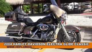 10. Used 2004 Harley Davidson Electra Glide Classic Motorcycles for sale Dade City