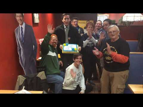 Baltimore County/City 4 Pete Buttigieg wish him an early Happy Bday & Best of luck on the debate