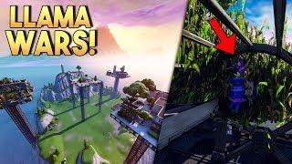 LLAMA WARS! v3 - Fortnite Creative (Nederlands)