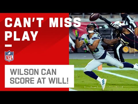 Russell Wilson Can Score At Will w/ TD Pass to Lockett