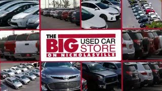 "<h5>Toyota on Nicholasville ""Big Used Car Store"" </h5>"