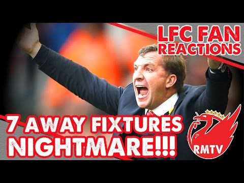 Away Fixture NIGHTMARE! | LFC Fans React To Premier League Fixtures
