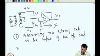 Mod-06 Lec-32 Capacitive Sensor Circuit With High Impedance Amplifier